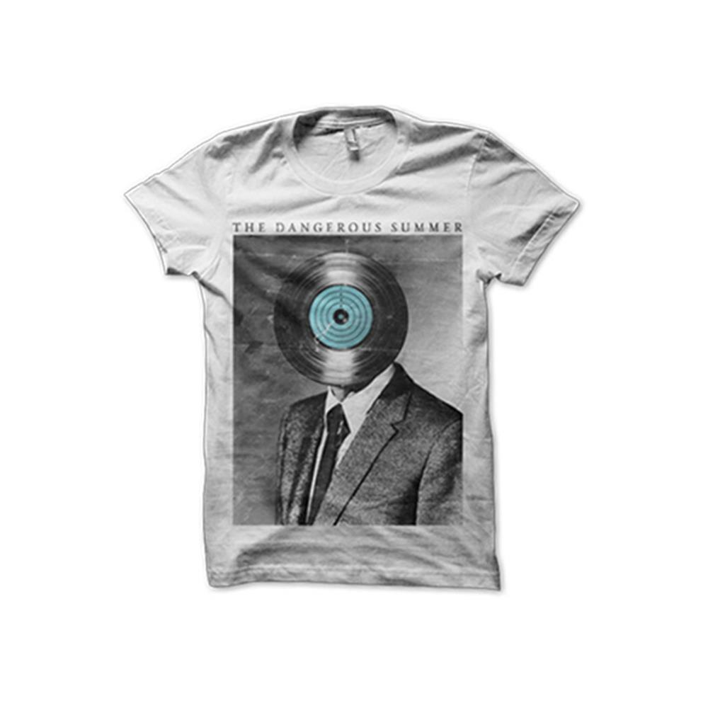 Record Head White T-Shirt