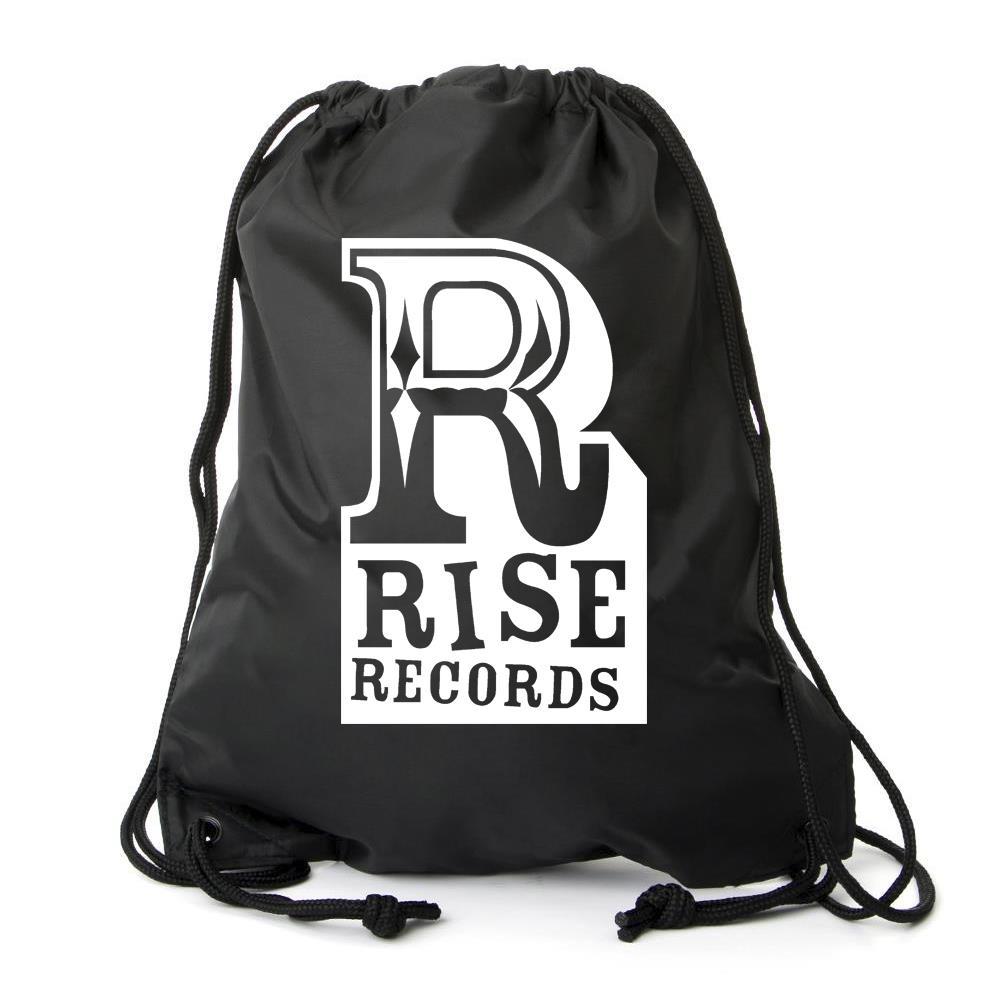 Logo Cinch Bag Black
