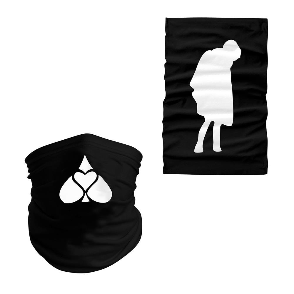Icon Black Head Wrap