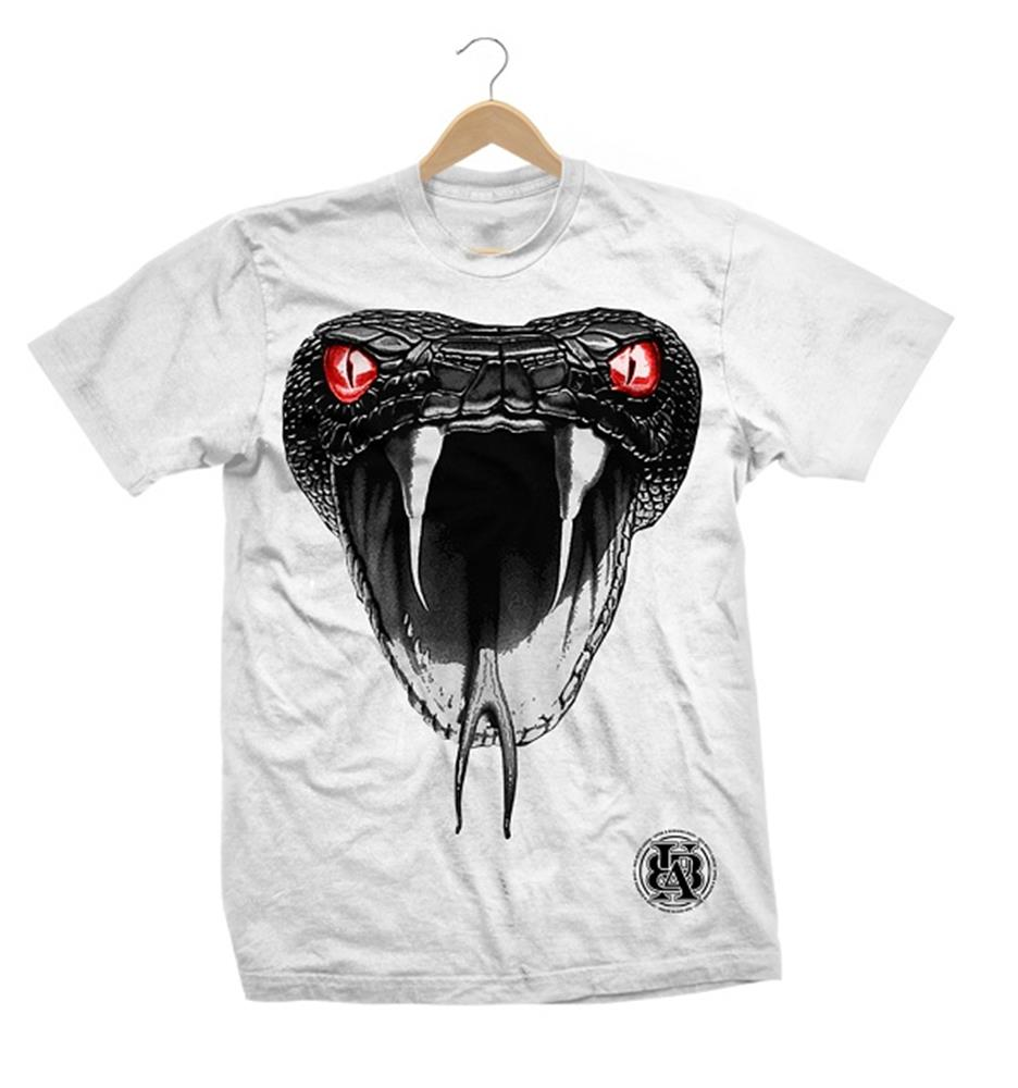 Snake White Limited Edition Tee