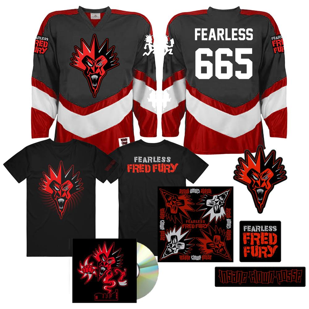 Fearless Fred Fury Hockey Jersey Mega