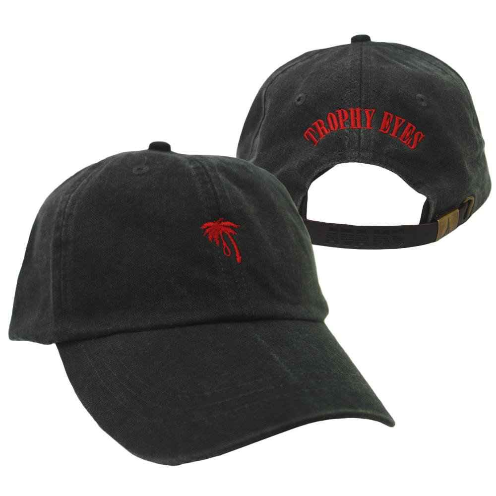 Palm Noose Charcoal Dad Hat
