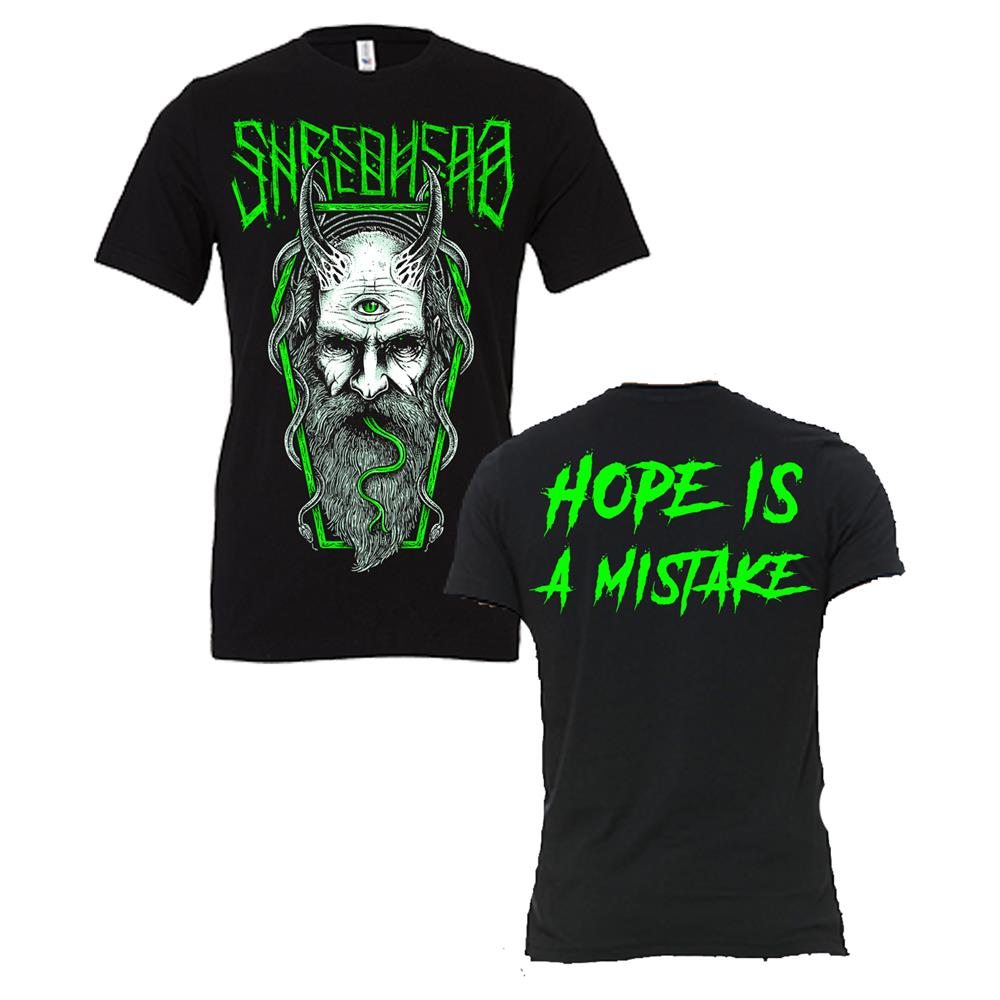 Hope Is A Mistake Black T-Shirt