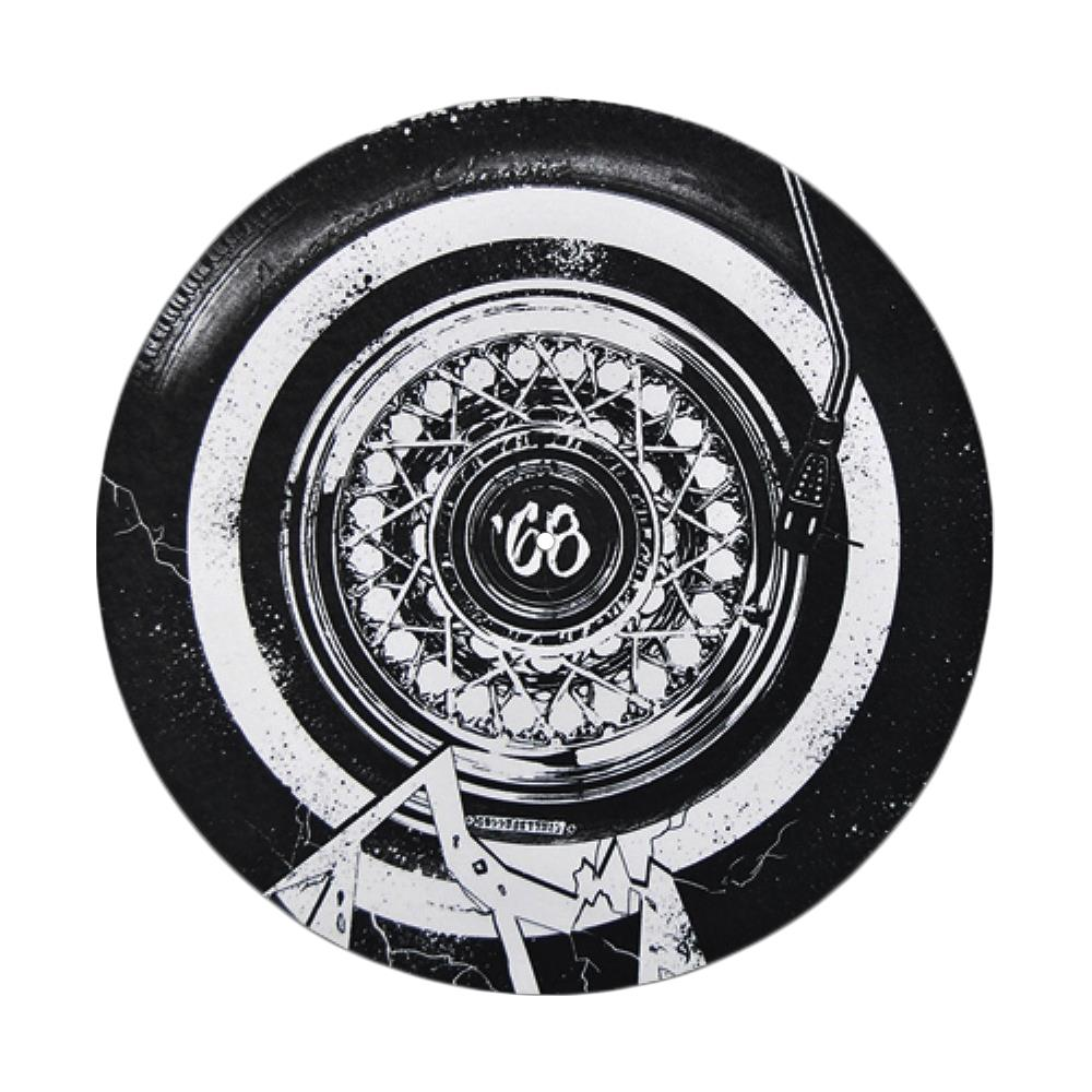 Broken Record Black Slipmat