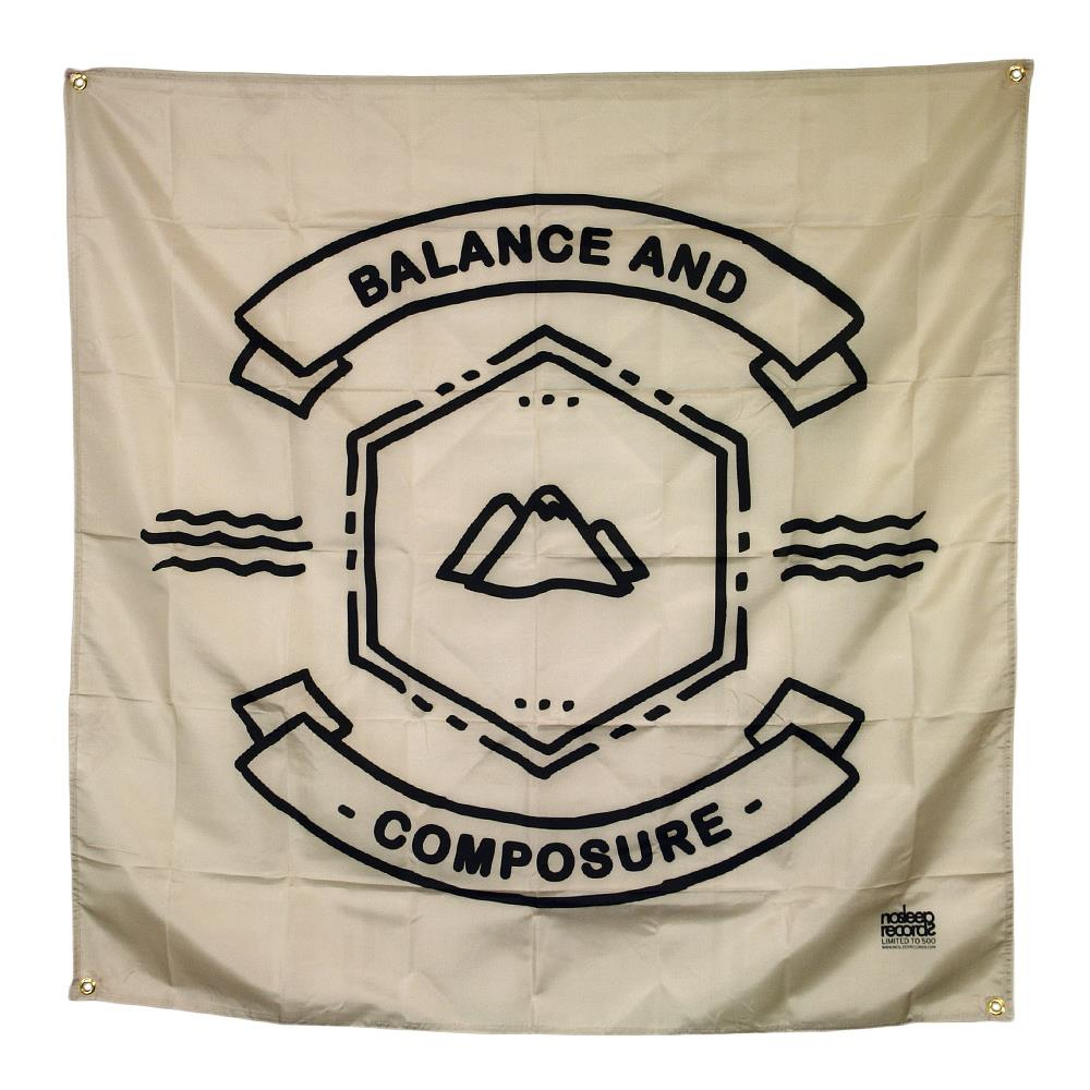 Balance And Composure Mountain Logo Natural