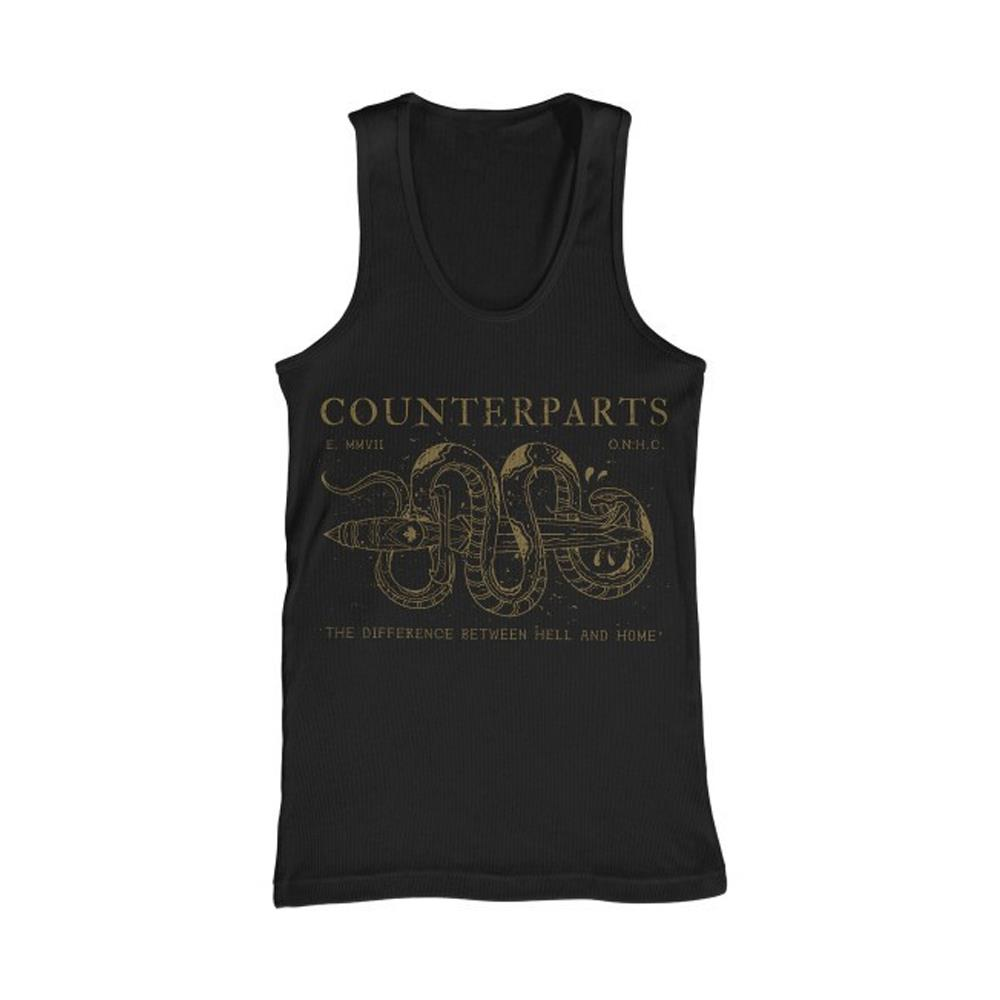 Don't Tread On Me Black Tank Top