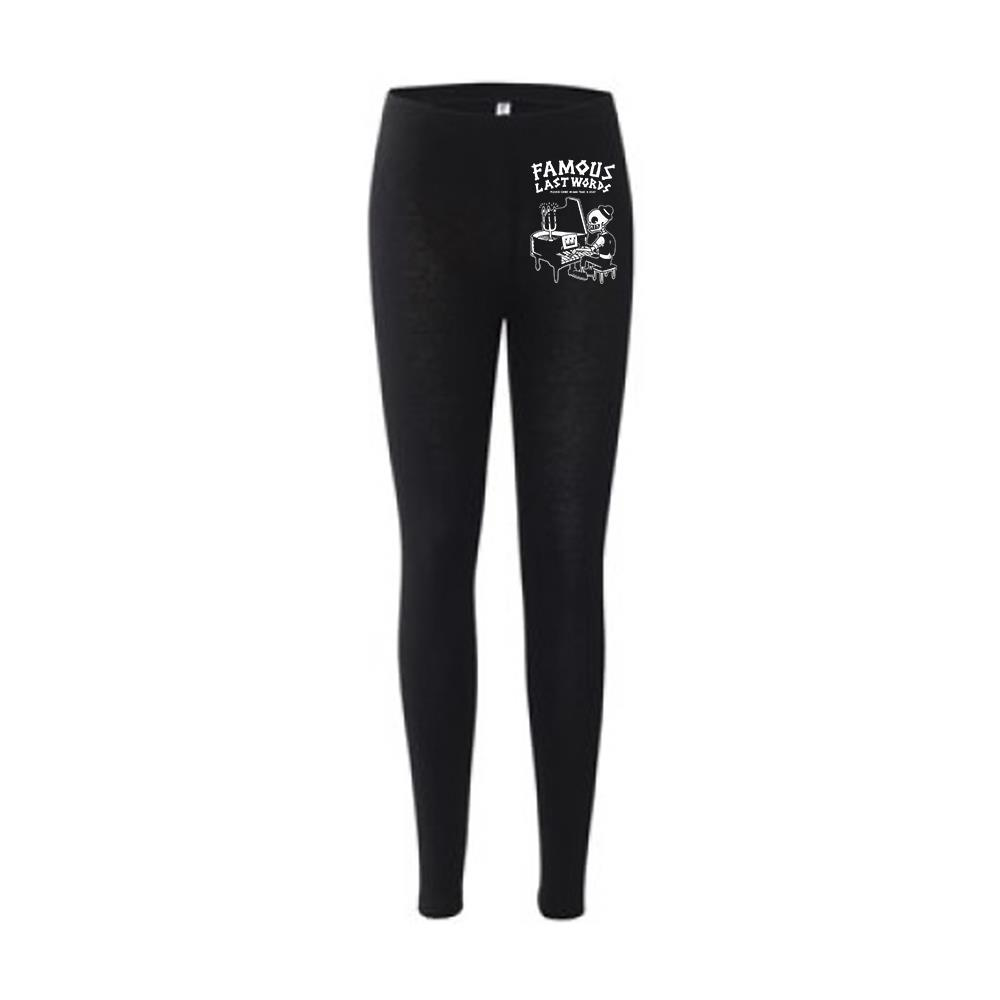 Piano Lady Black Leggings