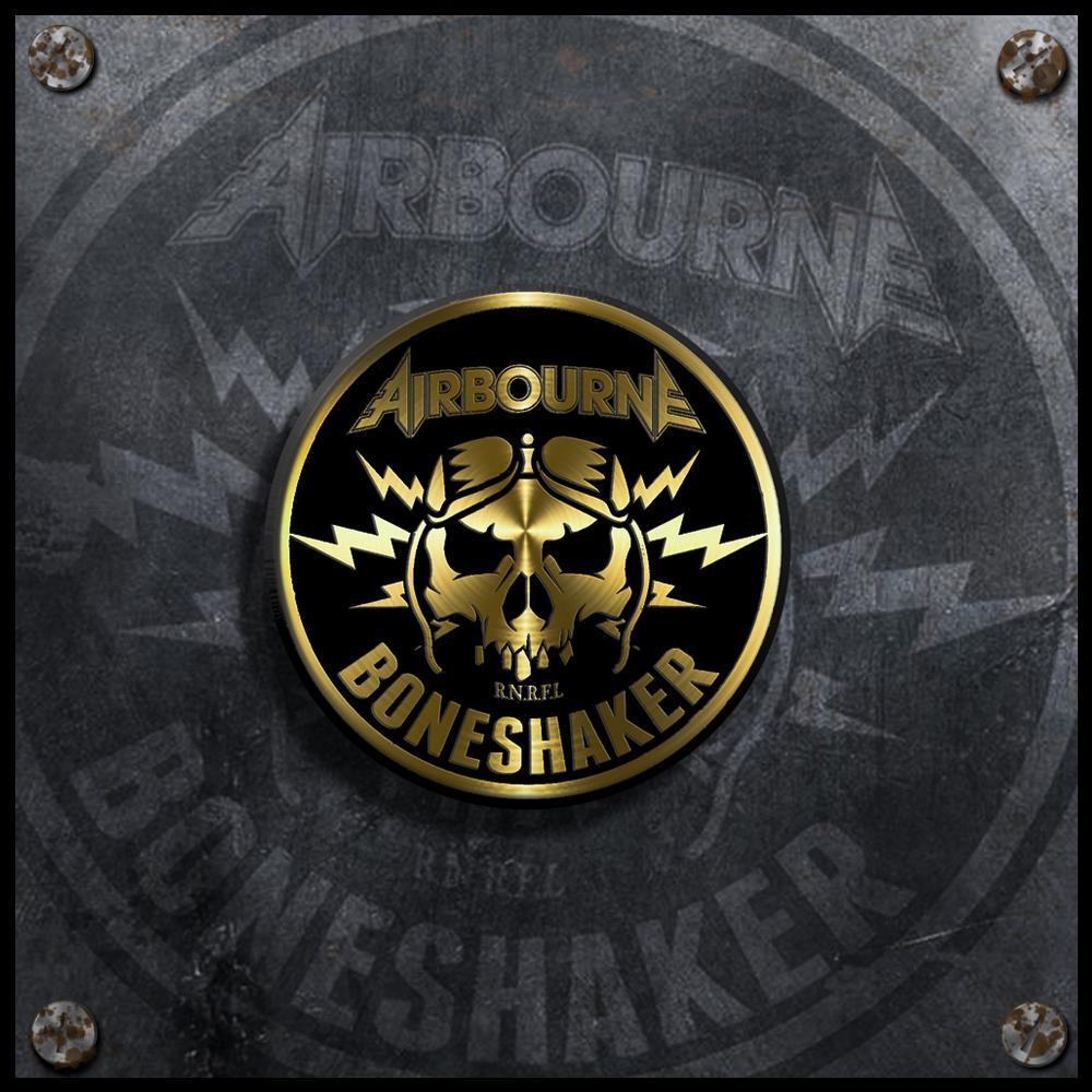 Boneshaker Enamel Badge + DD