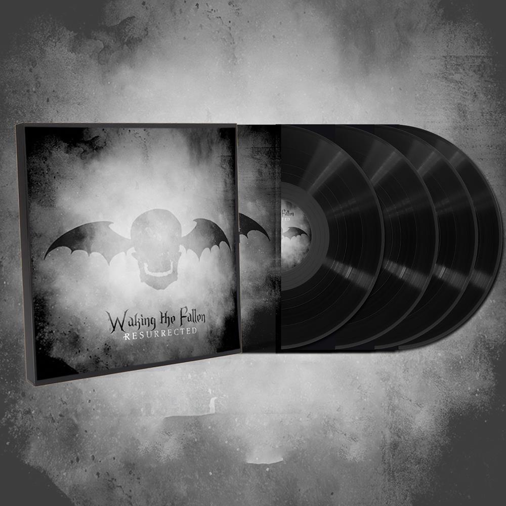 Avenged Sevenfold Waking The Fallen: Resurrected Black LP Boxset