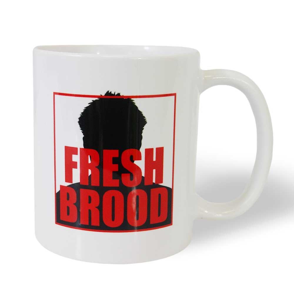 Fresh Brood White Coffee Mug