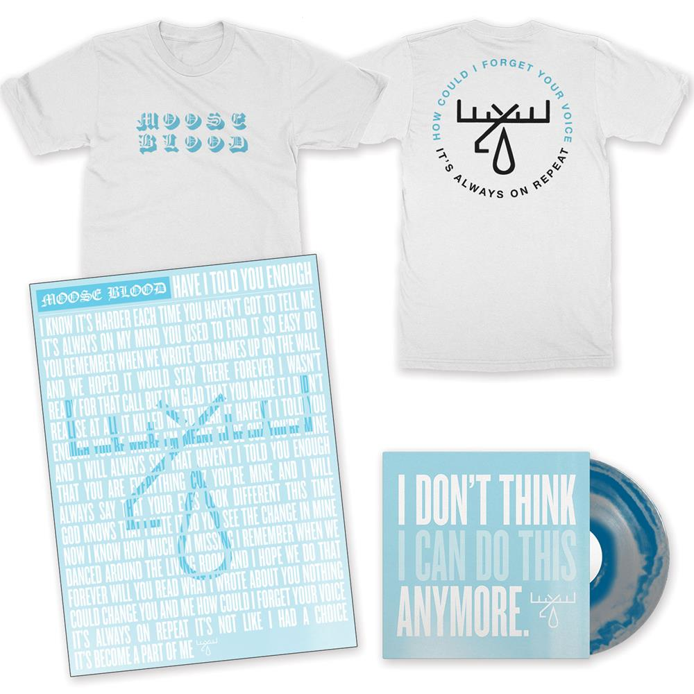Forget T-Shirt/LP/Limited Screen Printed Poster