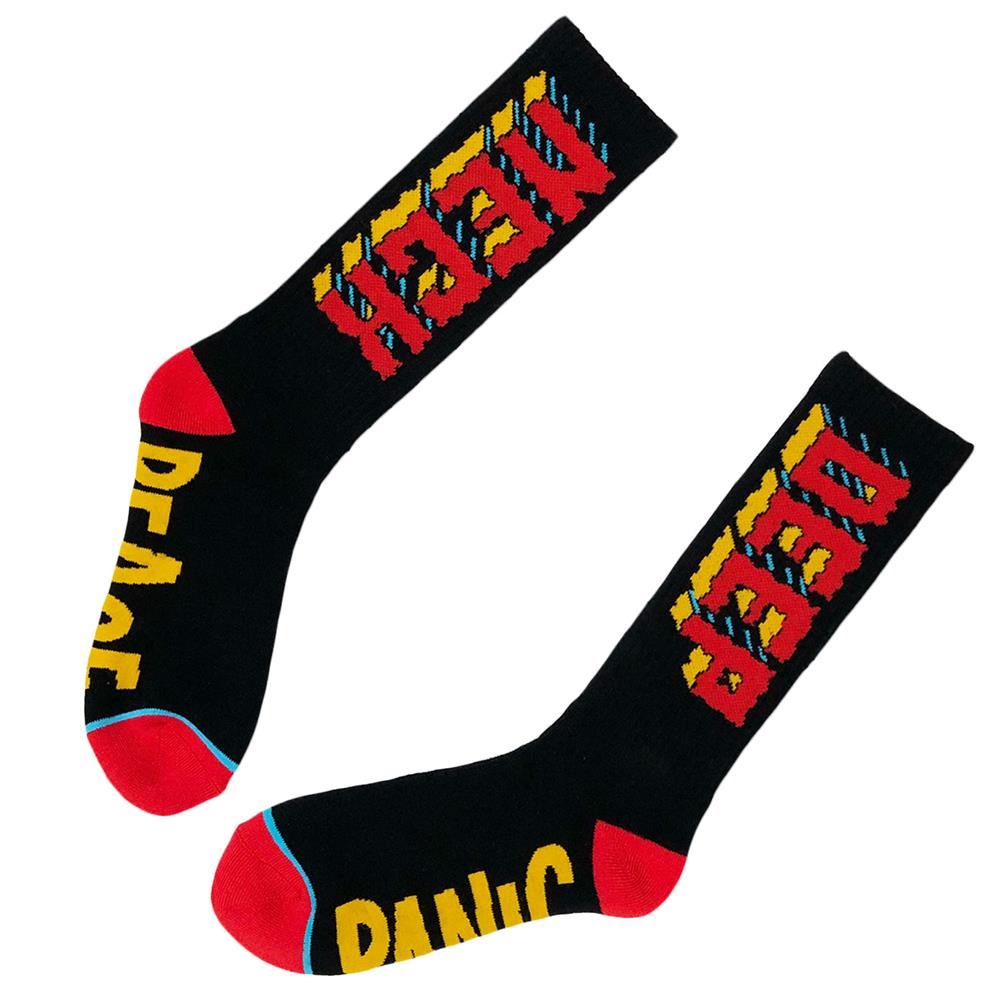Peace Panic Standard Crew Socks