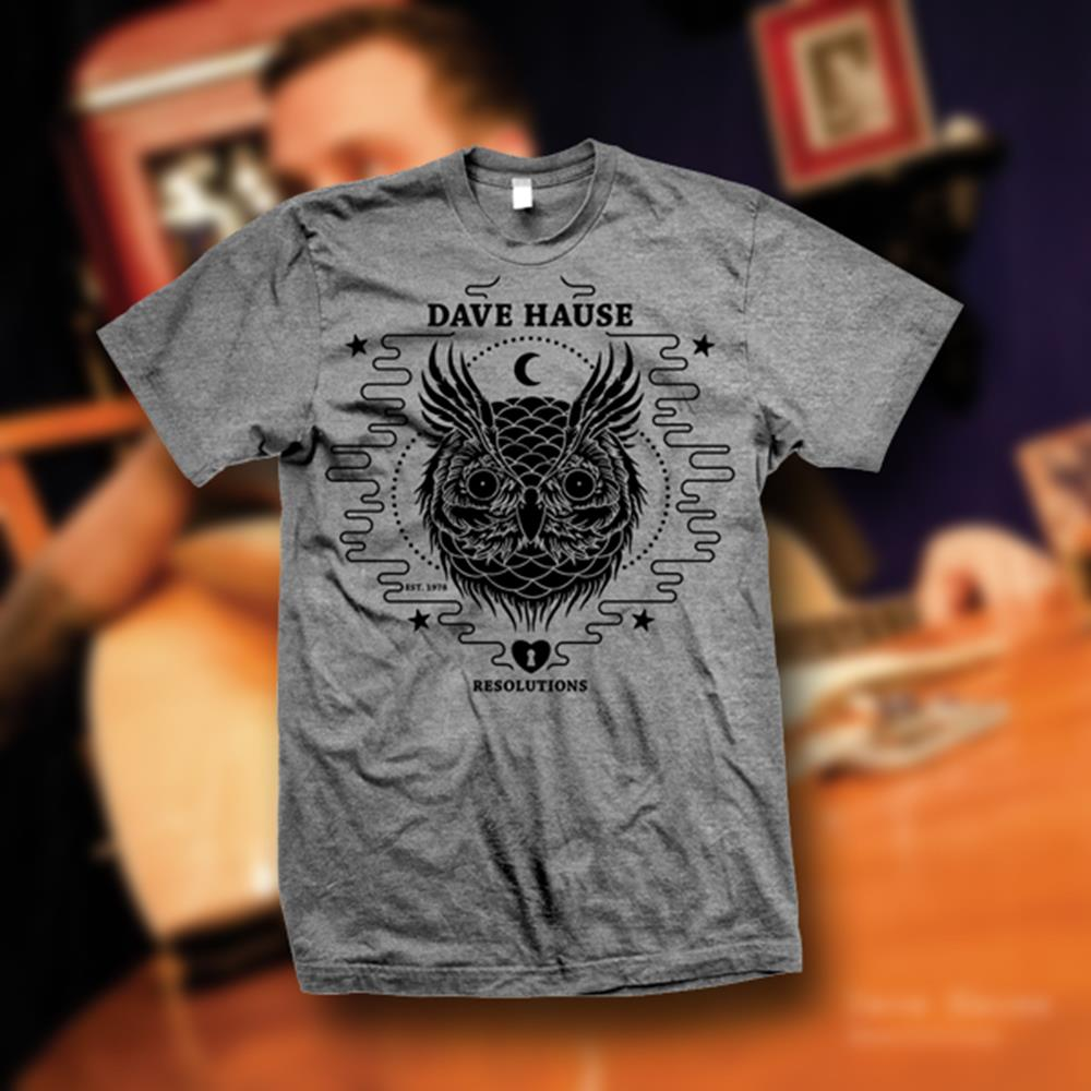 Owl Athletic Grey T-Shirt