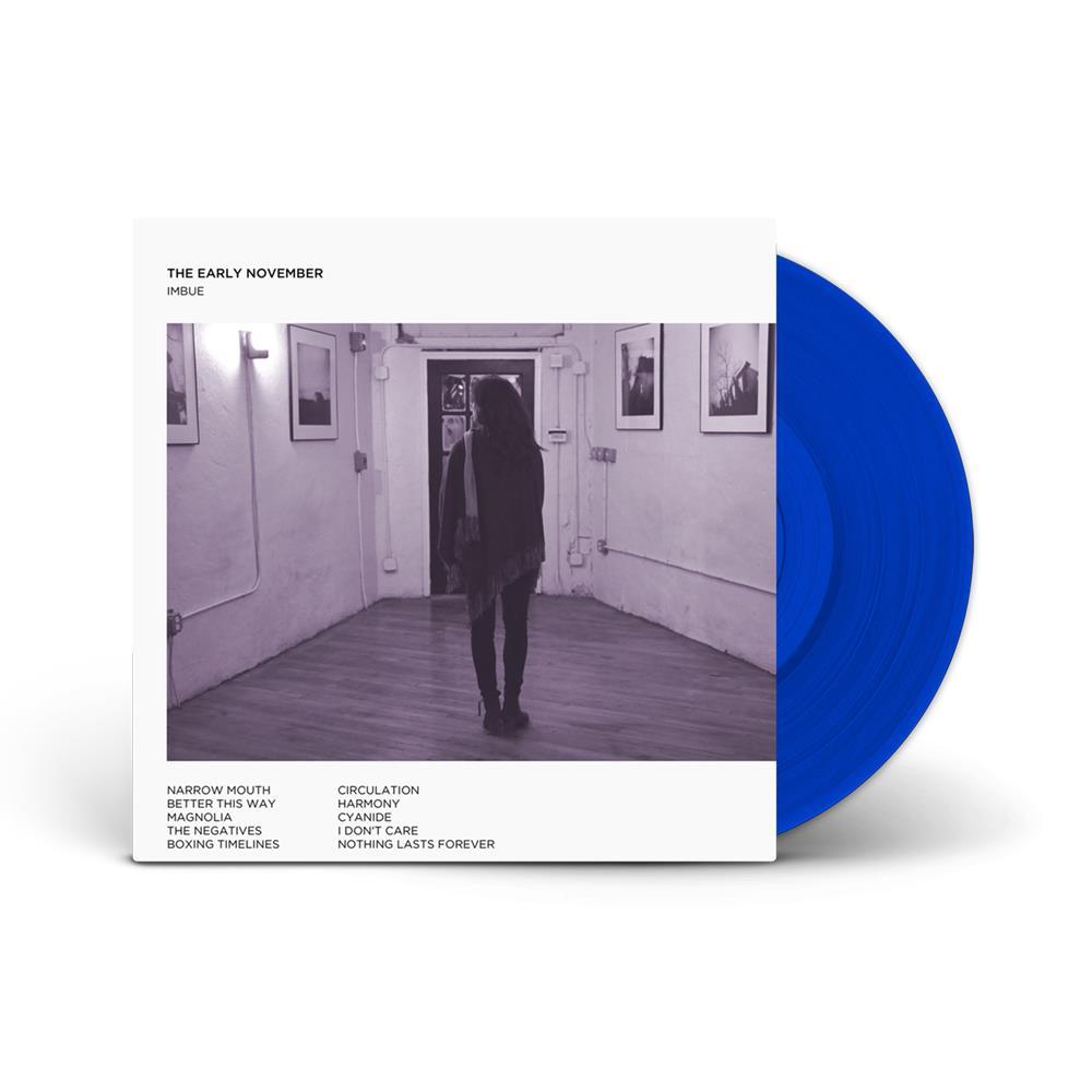 Imbue Transparent Blue Vinyl LP