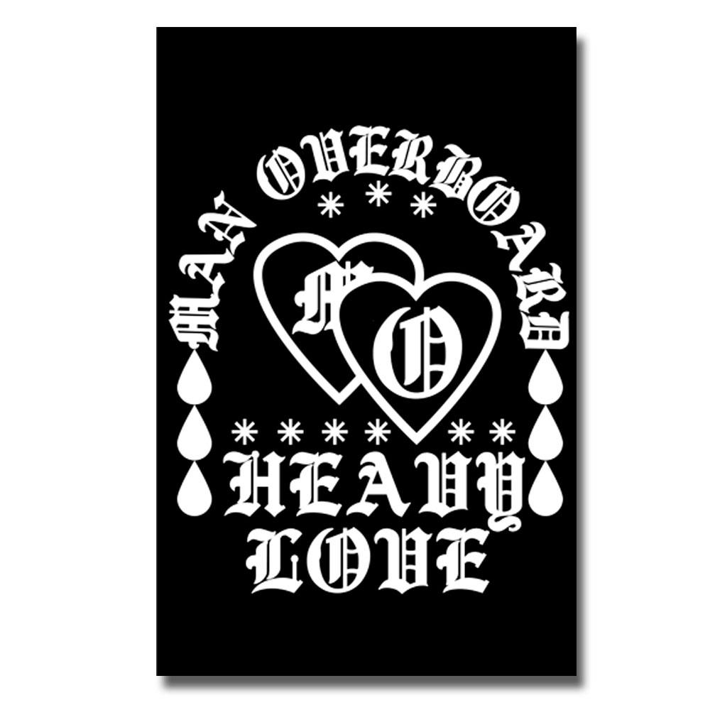 Heavy Love Black Patch 11X17