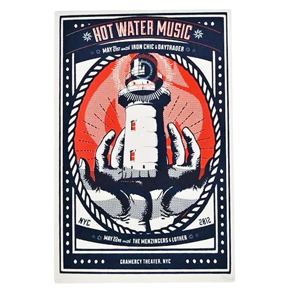Hot Water Music - Lighthouse Poster