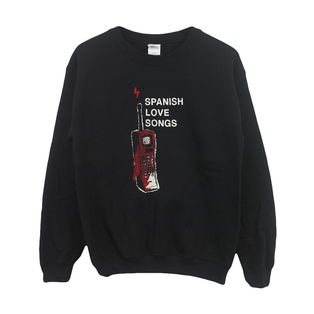 Phone Black Crewneck
