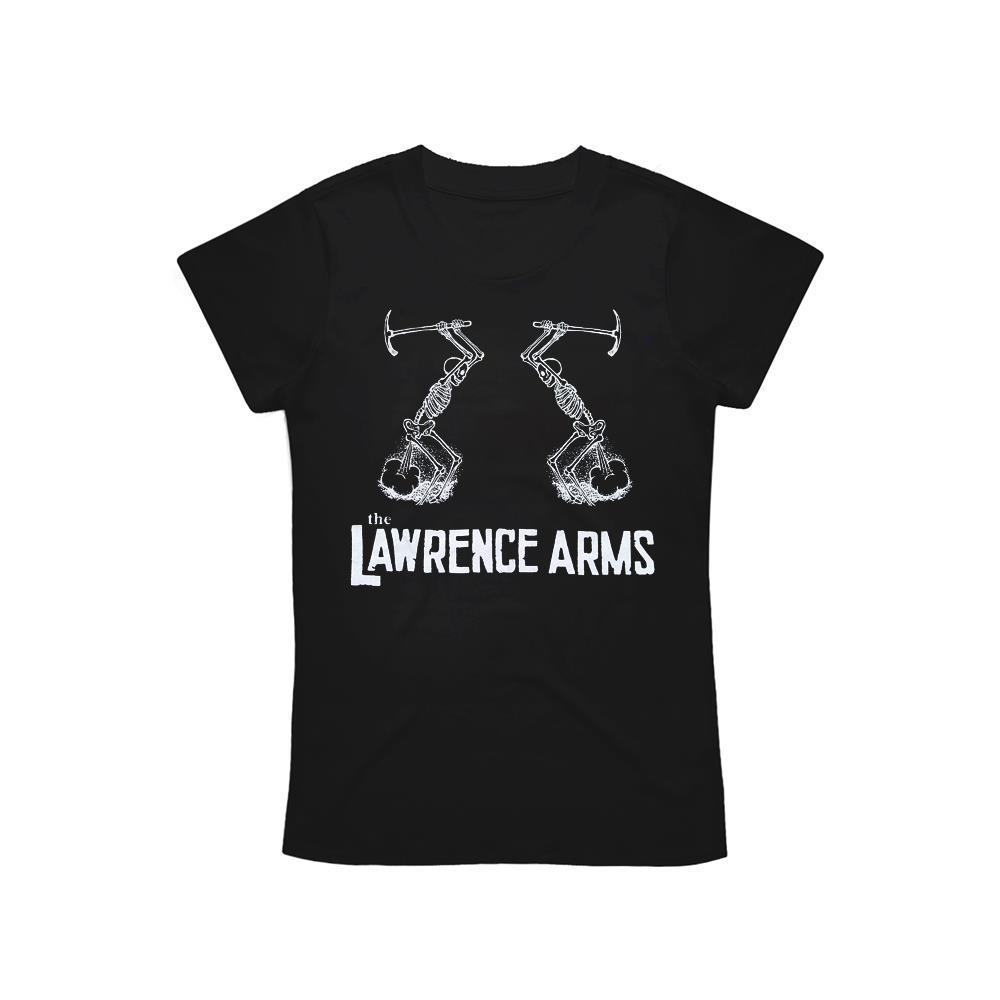 Skeletons Black Girl's T-Shirt