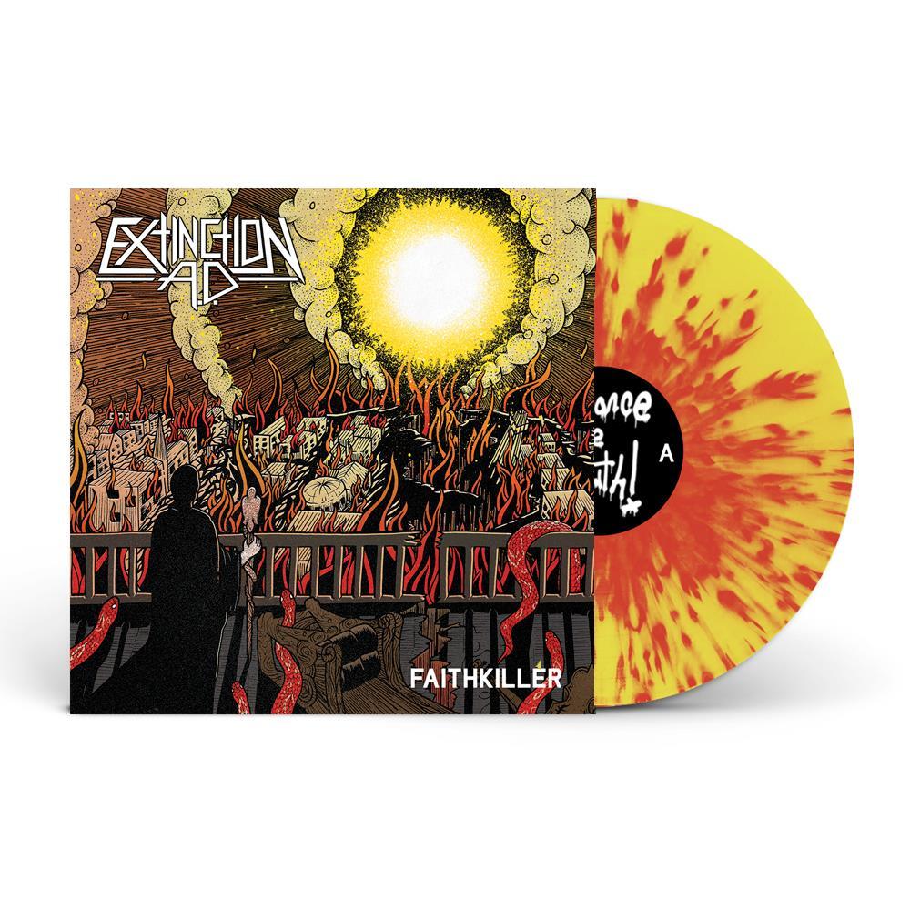 Faithkiller Red/Yellow Splatter LP