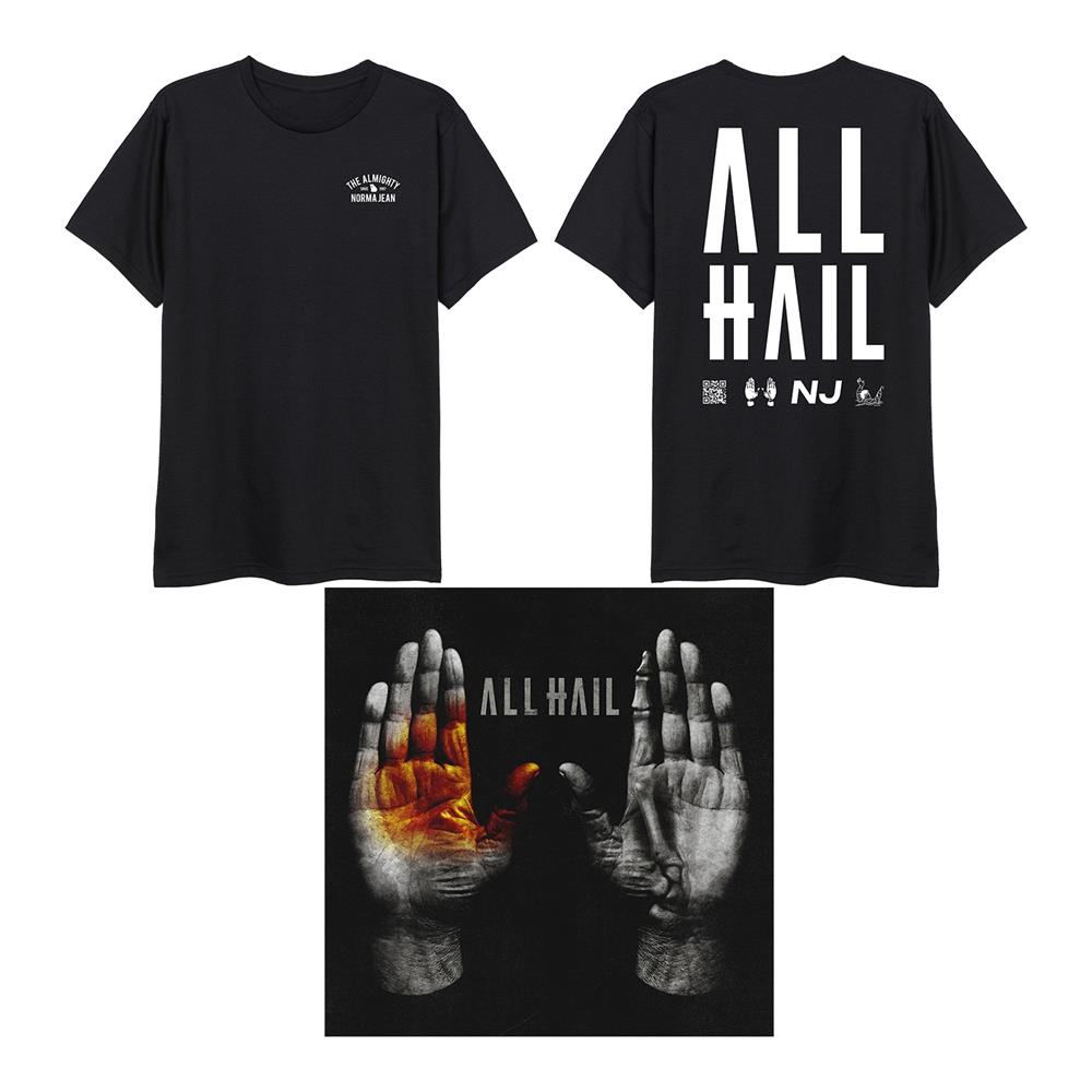 ALL HAIL CD + Tee + DD