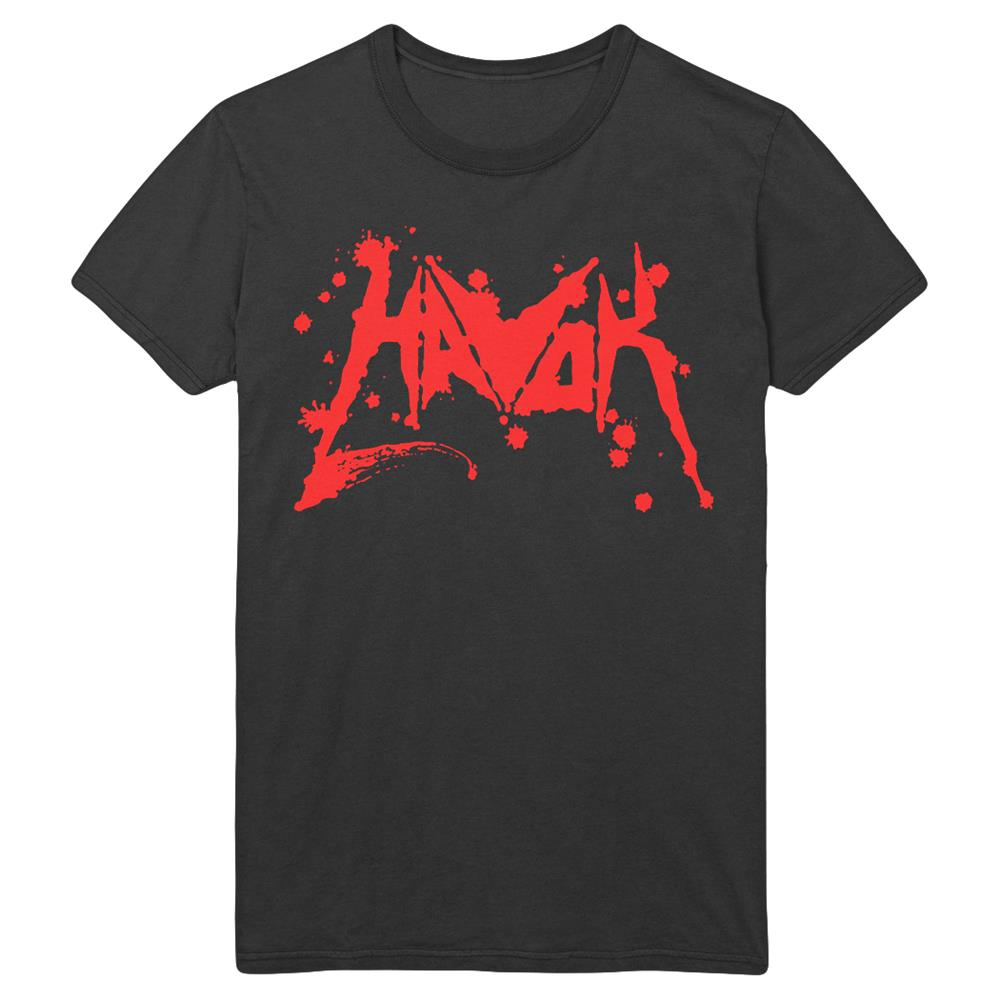 Blood Logo (Red) Black