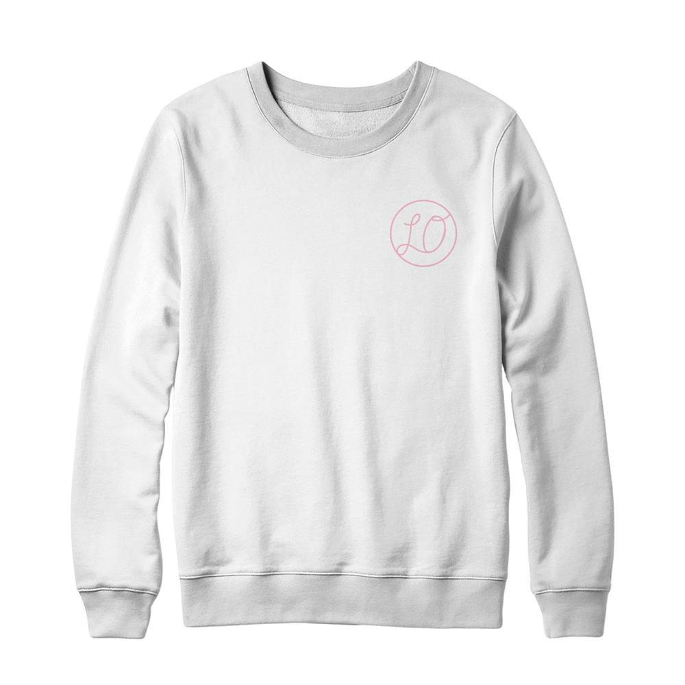 Logo White Crewneck Small