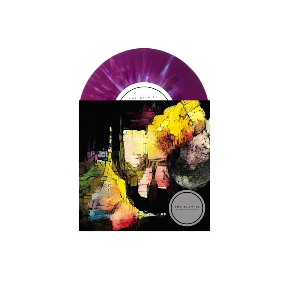 Pioneer Of Nothing Opaque Purple W/ Brown/White/Blue Splatter