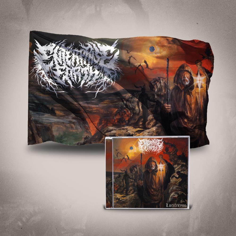 Luciferous CD + 3x5 Flag
