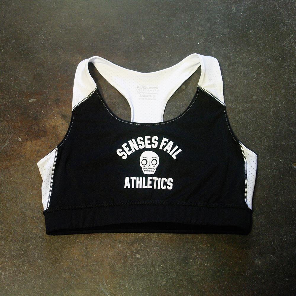 Athletics Black Sports Bra