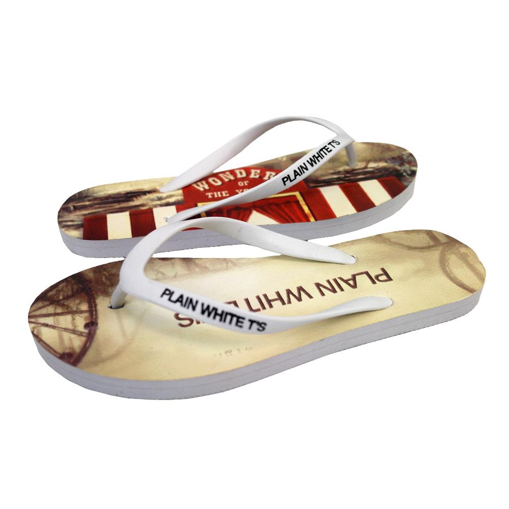 Wonders Of The Younger White Flip Flops Small