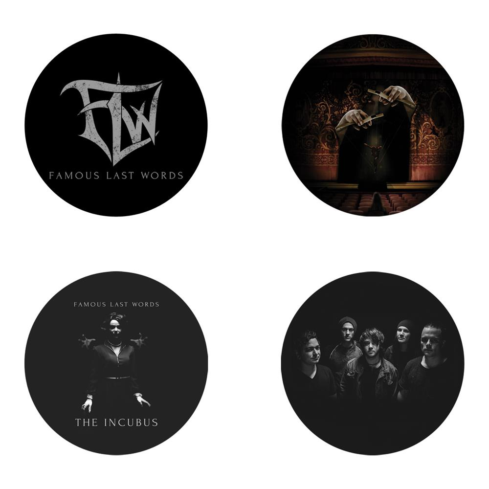 *Limited Stock* The Incubus  4 Set  Pack