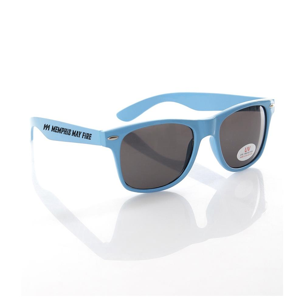 Logo Blue Sunglasses