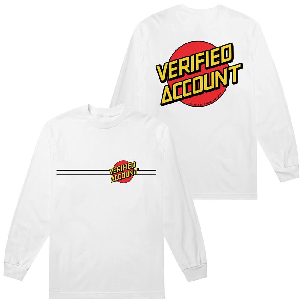 Verified Account White