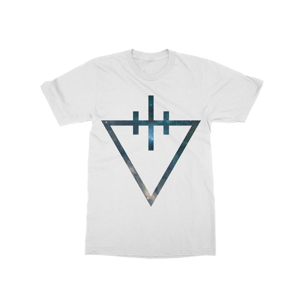 Triangle White T-Shirt