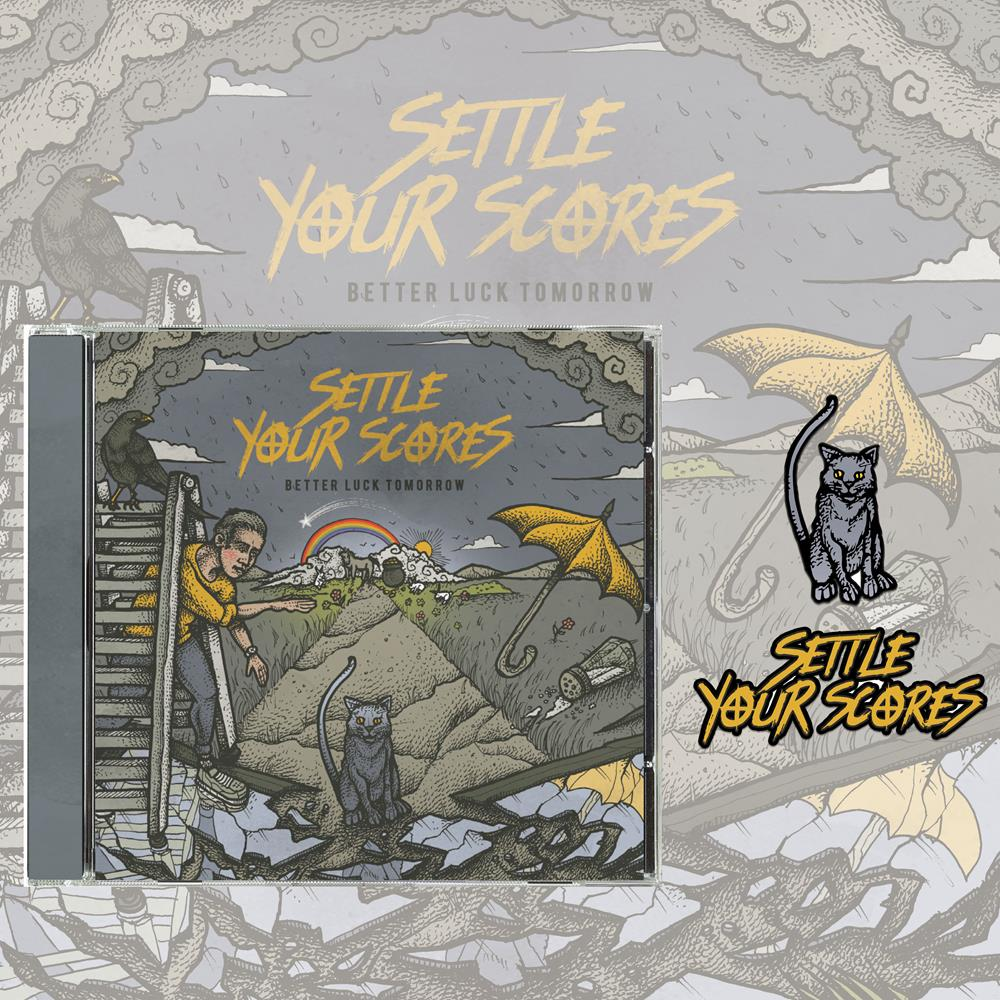 Better Luck Tomorrow CD + Pins