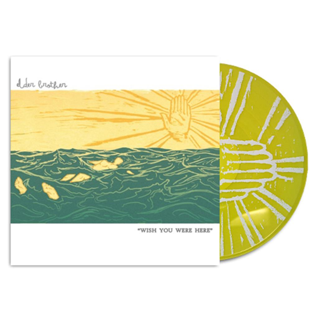 Wish You Were Here Transparent Yellow LP