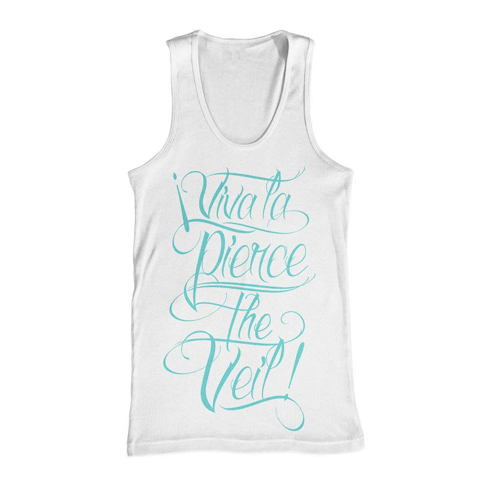 Viva La PTV White Tank Top