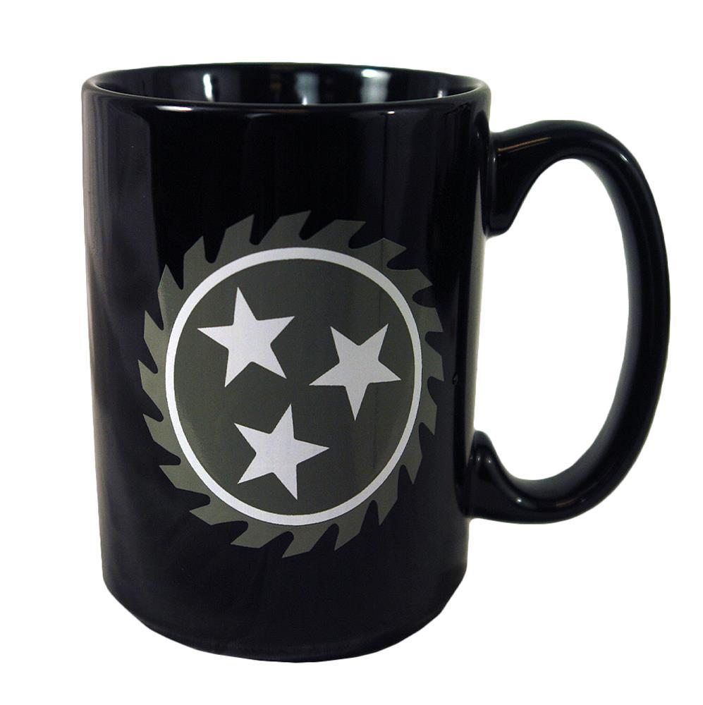 Sawblade Black Mug