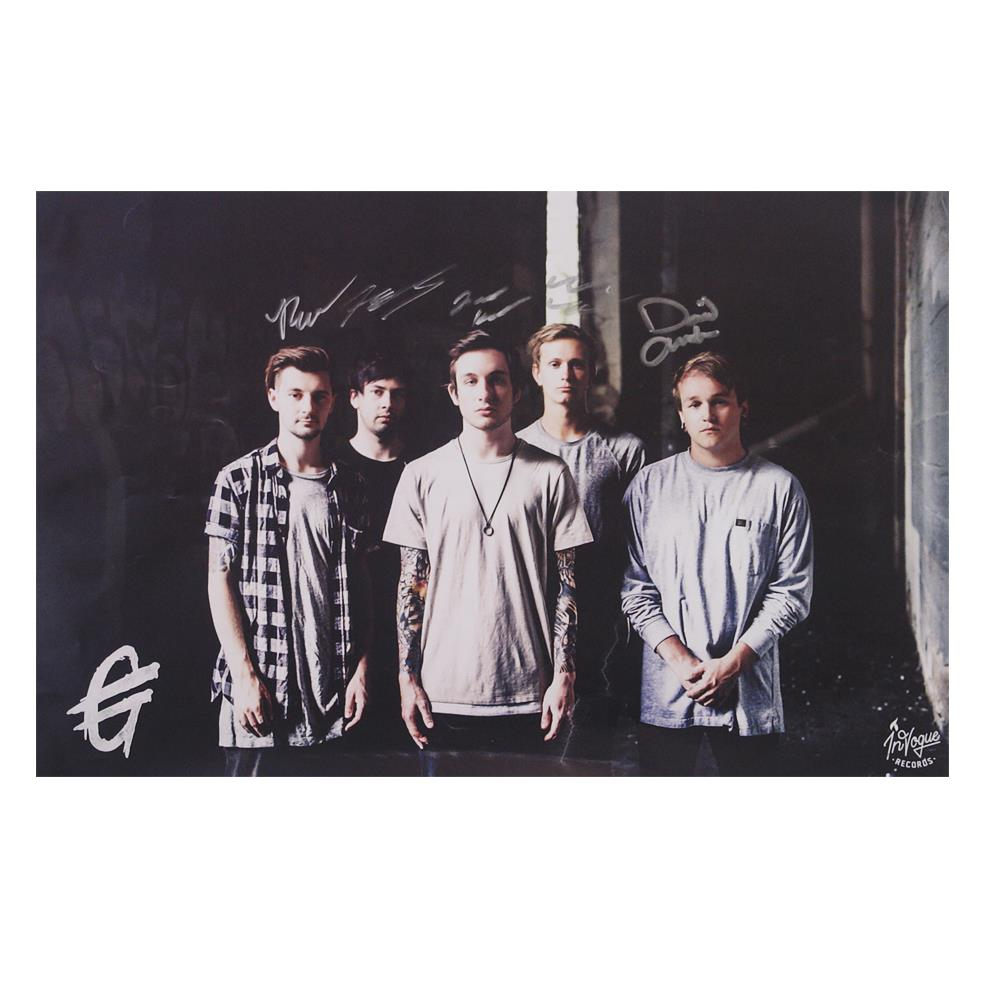 *signed* Band Photo  11X17