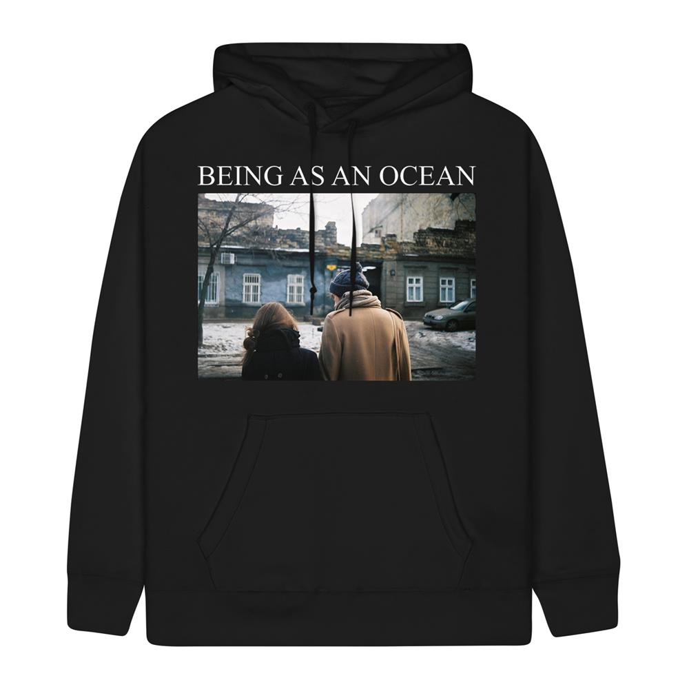 *Limited Stock* Couple Black Hooded Sweatshirt