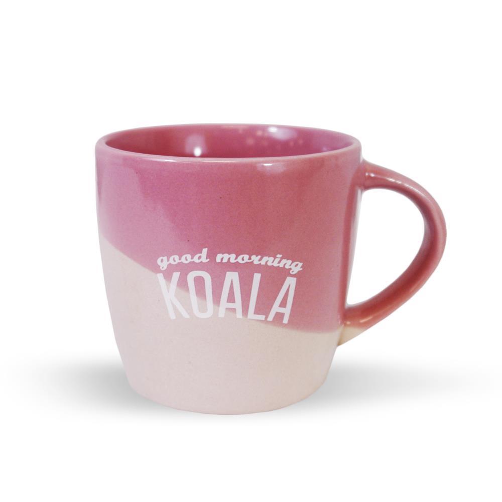 Good Morning Koala Pink Coffee Mug