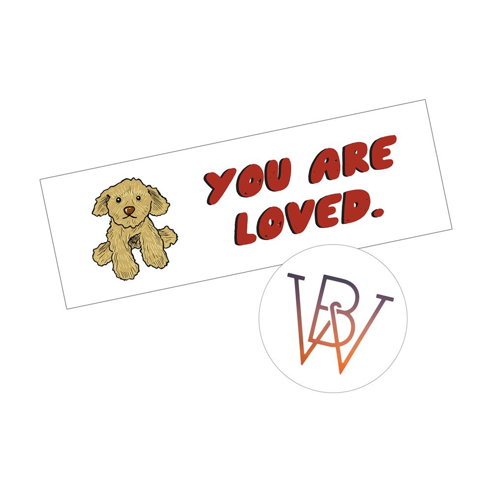 You Are Loved Sticker Pack