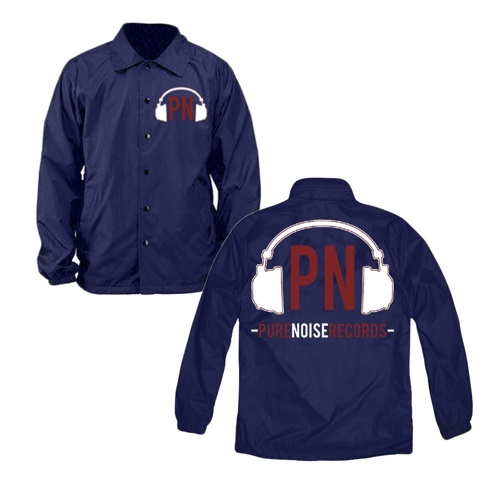 Pure Noise Logo Navy Blue