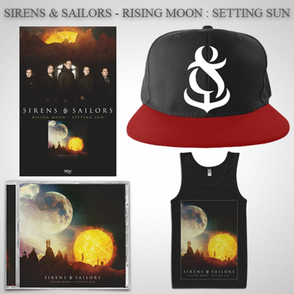 Rising Moon: Setting Sun CD + Hat + Tank Top + Poster + Digital Download