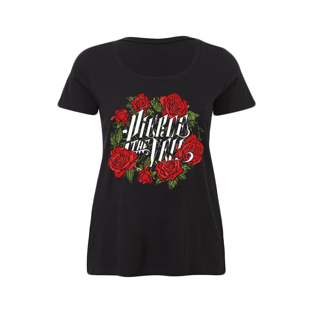 Rose (Torrid Sizing) Black Girl's T-Shirt