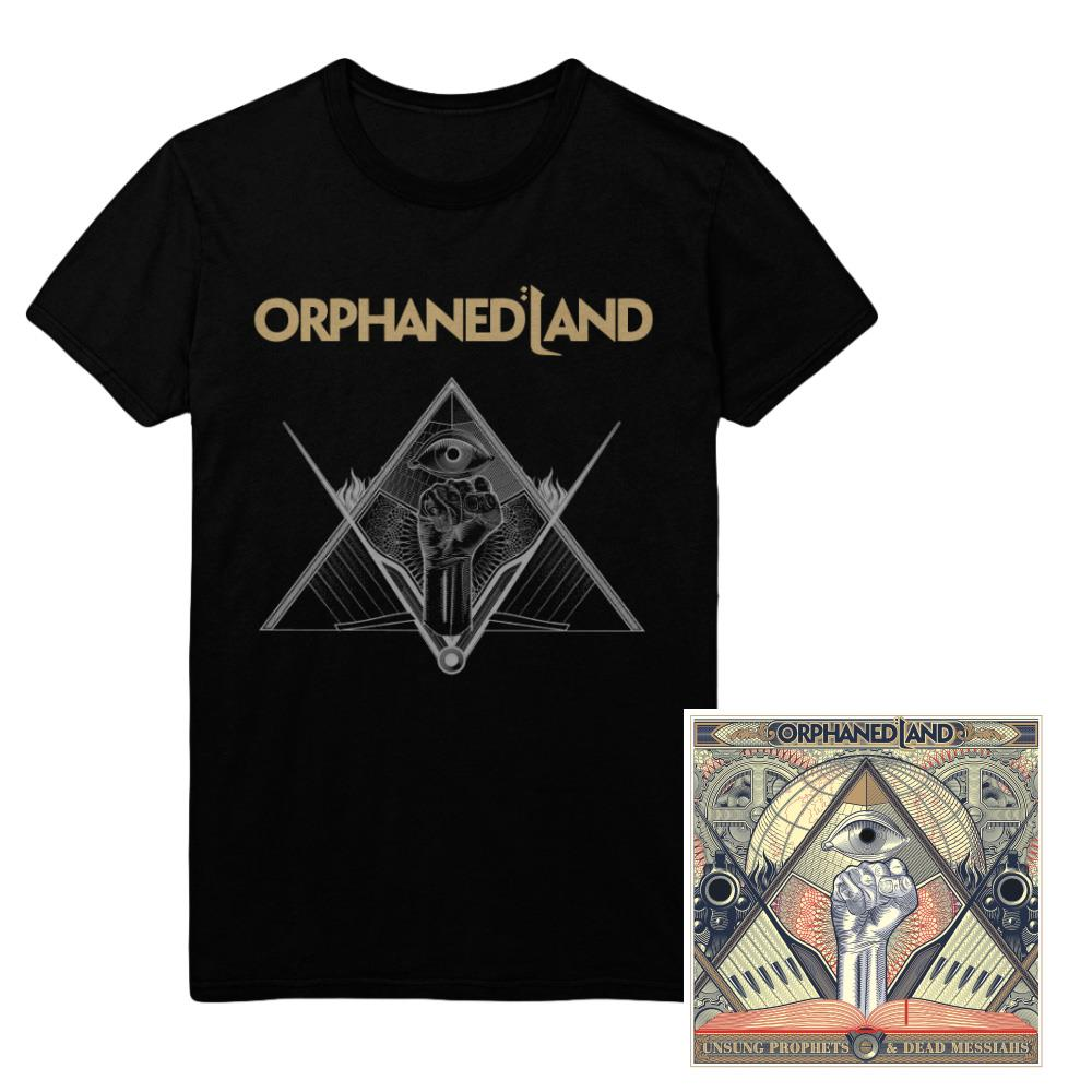 CD + Pyramid T-Shirt Exclusive