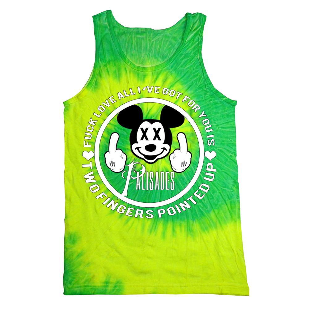 Two Fingers Lime Tank Top
