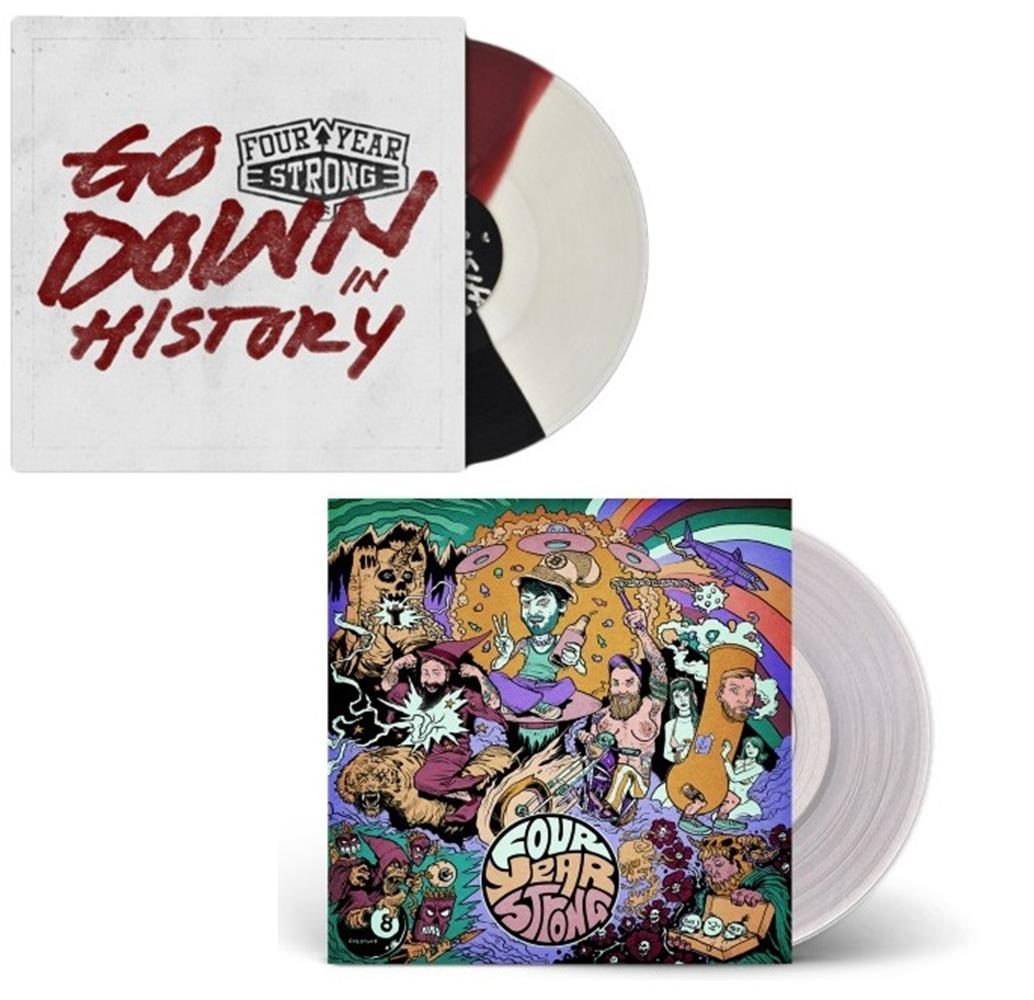 Four Year Strong Vinyl LP Bundle