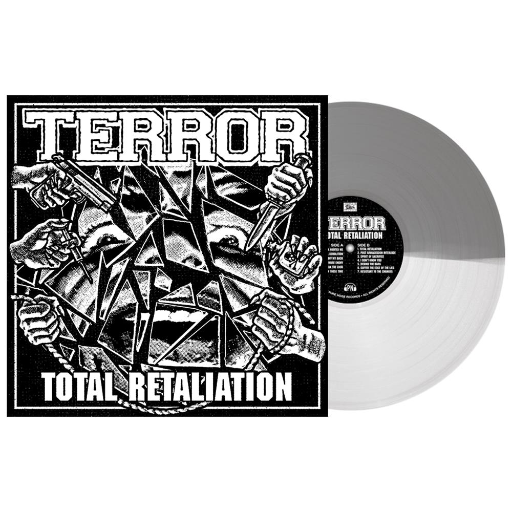 Total Retaliation Half Grey/Half Milky Clear