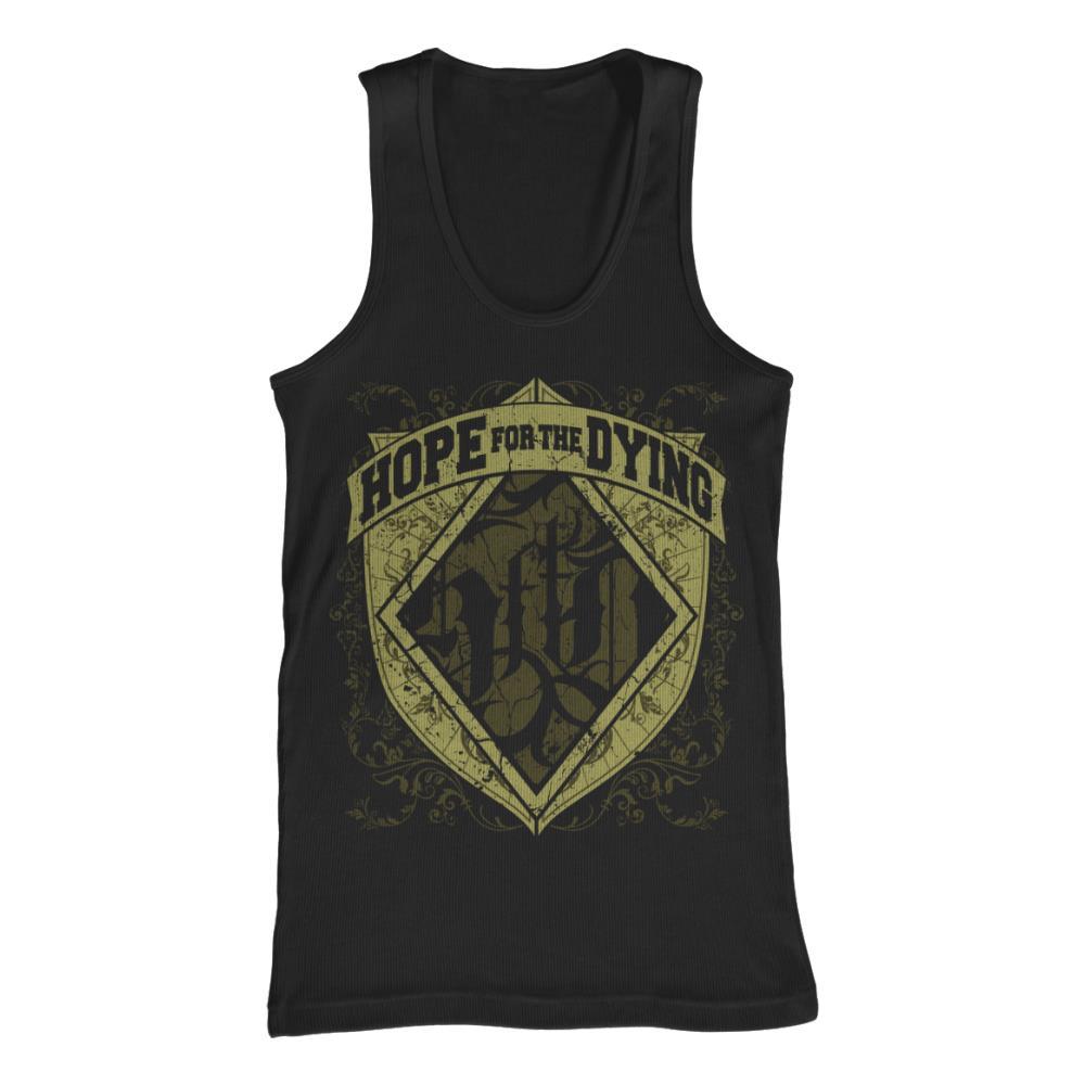 Logo Crest Black Tank Top *Final Print* $6 Sale